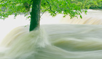 Picture of flooding on the Duck River, Tennessee.